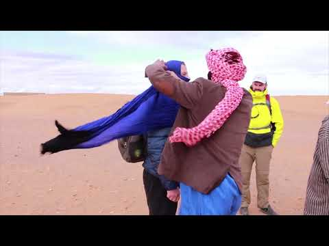 How Blondie made her way to the Sahara desert in Morocco!