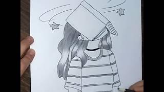 رسم بنات اكيوت بل خطوة خطوة Mp3