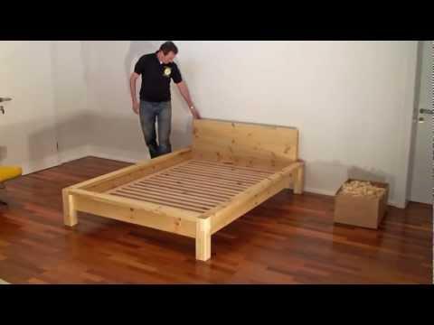holzlandmanufaktur hochwertige massivholzbetten aus z. Black Bedroom Furniture Sets. Home Design Ideas