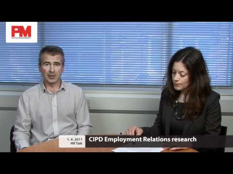 CIPD Employment Relations research