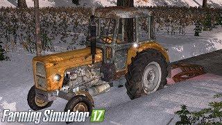 Odśnieżanie URSUS'em C-360 #59 [Gospodarstwo Rolne] Farming Simulator 17   NetNar
