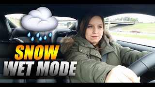 2019 MUSTANG GT SNOW/WET MODE REVIEW!