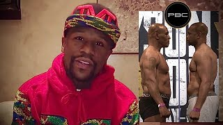 Floyd Mayweather Jr. Prediction for Mike Tyson vs Roy Jones Jr| RJ Embrace his MISTAKE Fighting IRON