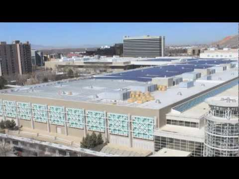 Salt Palace Solar Panel Installation