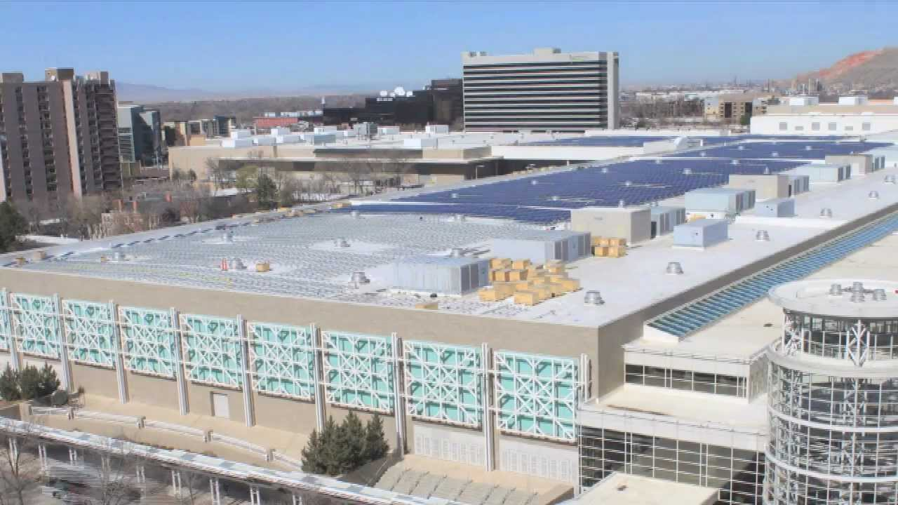 Salt Palace Solar Panel Installation Youtube