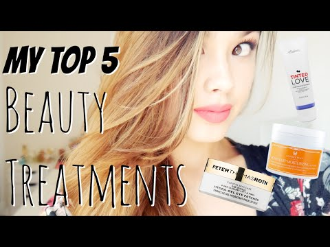 MY TOP 5 BEAUTY TREATMENTS | Hair, Skin, and Teeth Whitening!