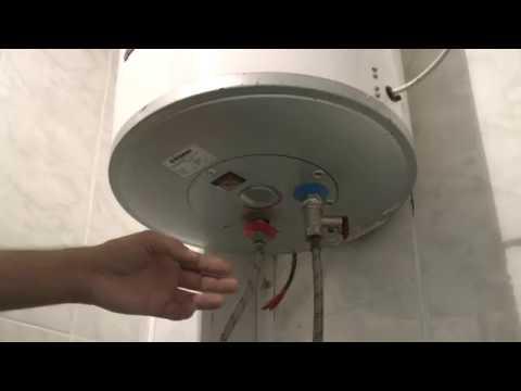 Как слить воду с водонагревателя поларис 30 литров