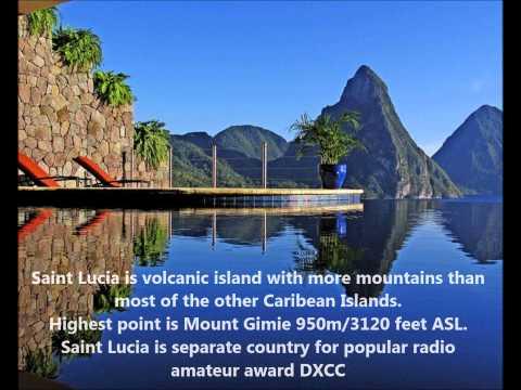 J68HZ Saint Lucia Island