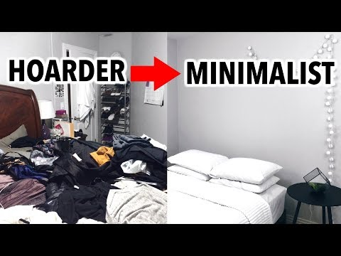HOARDER TO MINIMALIST | How I Became A Minimalist