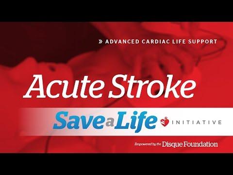 6e. Acute Stroke, Advanced Cardiac Life Support (ACLS) (2018)
