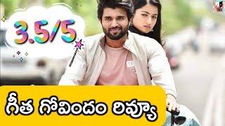 Geetha Govindam (2018)   Telugu (Tollywood) Movie Review   Vijay Devarakonda   #UTFReviews
