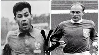 HISTORIC (RARE) Just FONTAINE VS Alfredo DI STEFANO (1959) // France x Spain