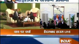 LIVE: Modi, Obama Walk the Talk on Nuclear Deal - India TV