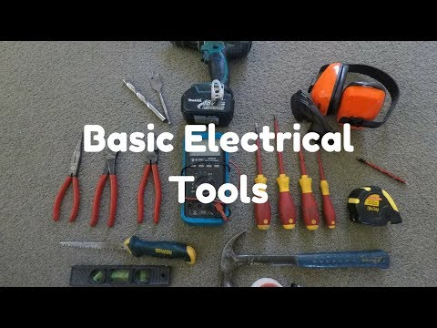 Basic Tools for Electrical Work