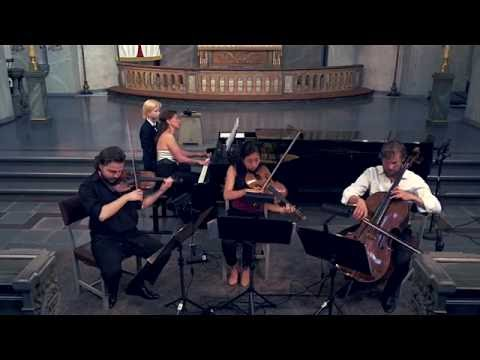 Johannes Brahms. Piano quartet c minor, third movement.