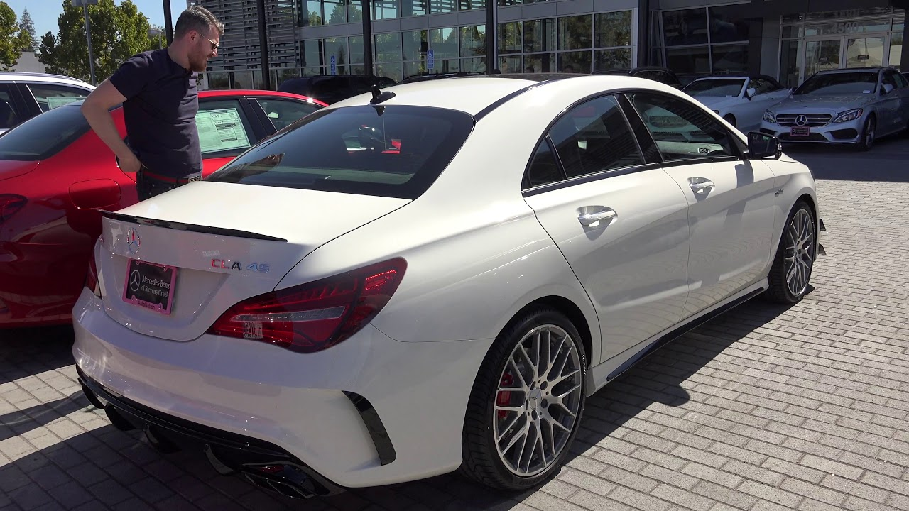 Mercedes Stevens Creek >> My Friends New CLA45 AMG Collection Day - YouTube