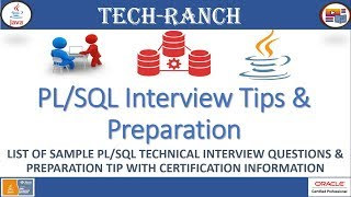 List of  PL/SQL technical Interview and Certification Tips | PL/SQL | Tech - Ranch