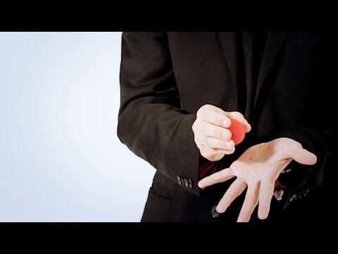 How to Palm a Sponge Ball | Magic Card Flourishes