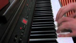 Kultalusikka - piano cover