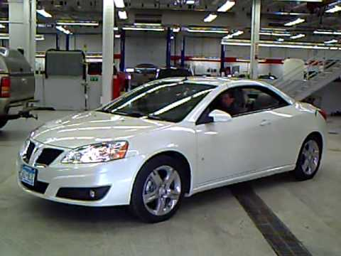 2009 Pontiac G6 GT Convertible - YouTube
