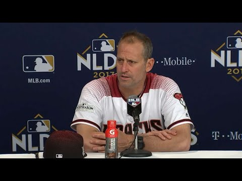 LAD@ARI Gm3: Lovullo on falling short in the NLDS
