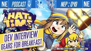 NEP 049: Interview: A Hat In Time dev, Gears For Breakfast (feat. Jonas Kaerlev)