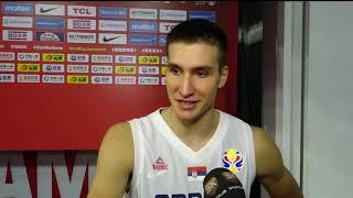 Bogdan Bogdanović nakon pobede nad SAD na Mundobasketu   SPORT KLUB Košarka