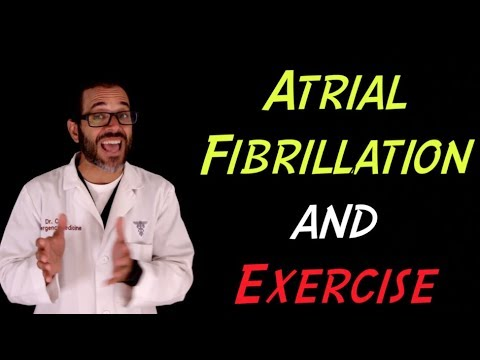 Atrial fibrillation and Exercise, a patient education video