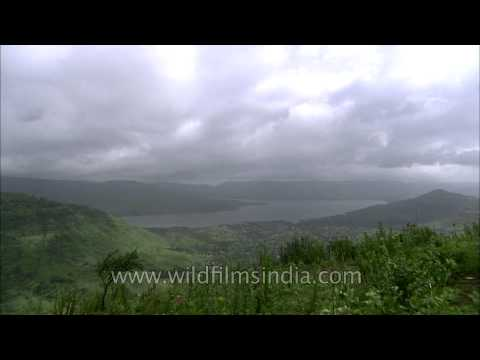 Time lapse of clouds in Panchgani