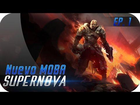 SUPERNOVA | EP 1 | Nuevo MOBA Sci-fi - Primeras impresiones