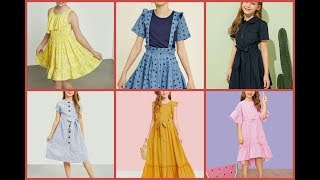 10 to 12 year girls frocks and top designing