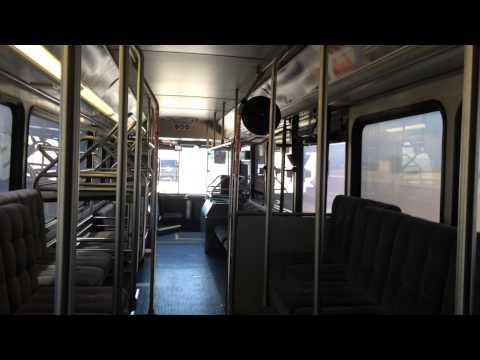 Only One On The Enterprise Bus Leaving Denver International Airport