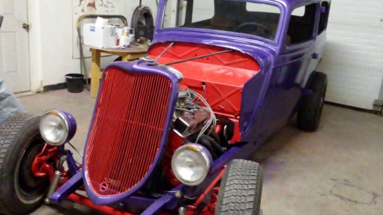 1934 FORD OLD SCHOOL HOT ROD FOR SALE - YouTube