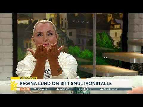 """Regina var i USA när pandemin bröt ut: """"40 min att packa""""   Nyhetsmorgon (TV4)"""