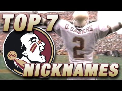 Top 7 FSU Football Nicknames