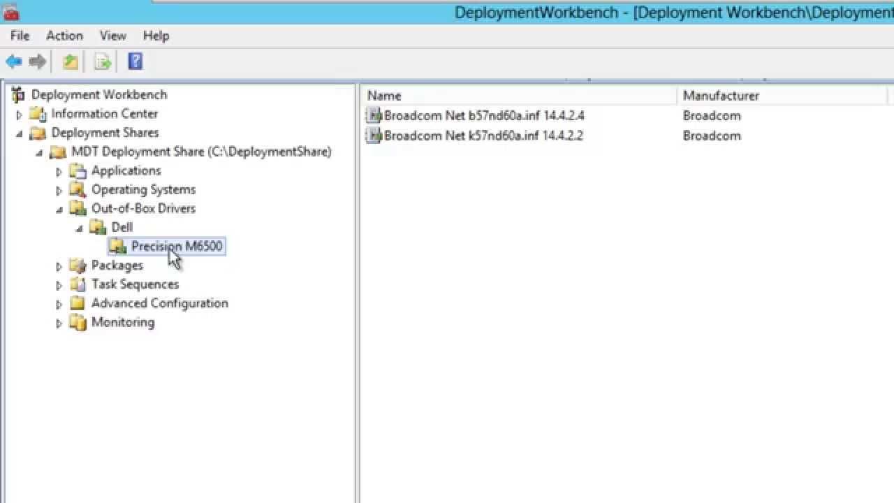 MDT 2013 Driver Management Setup for Windows 8 1 - Part 4 of 12