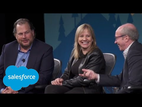 Fortune CEO Series: Leadership Dialogue With Mary Barra And Marc Benioff