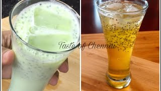 Nannari Sarbath & Paal Sarbath in Tamil ~ Nannari Sarbath Recipe in Tamil ~ Ramadan Iftar Drink