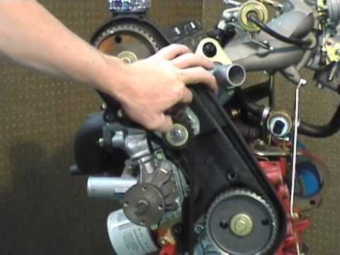 Ipd Volvo Red Block Engine Timing Belt Walkthrough Youtube