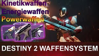DESTINY 2 Waffensystem Kinetik-, Energie- & Powerwaffen Deutsch/German