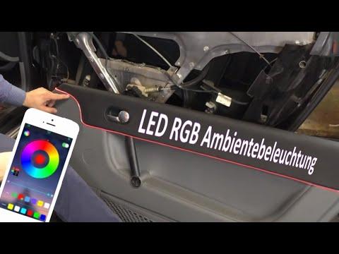 RGB LED Ambientebeleuchtung Audi TT 8N | Schrauba