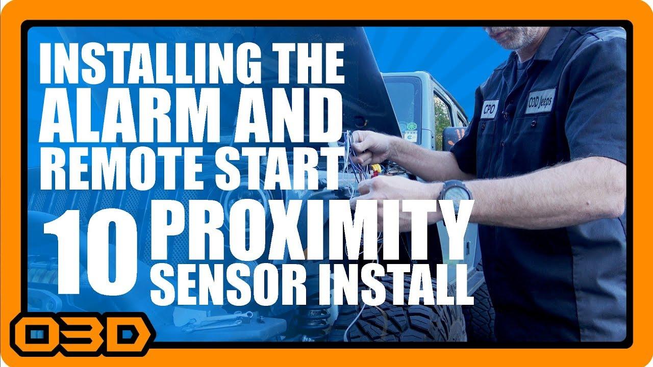 10 - Alarm and Remote Start - Proximity Sensor Install - Howto ...