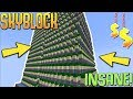 Building the BIGGEST & RICHEST Cactus Farm on the SERVER! (Minecraft Skyblock) #39