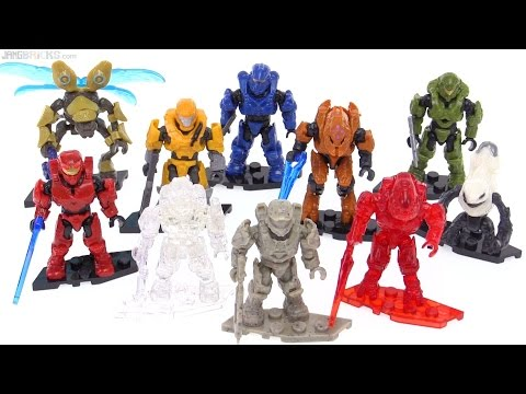 Mega Bloks Halo Foxtrot figures: Full collection review!