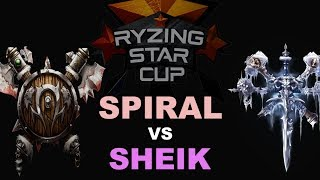 WC3R - Ryzing Star Cup #9 - Semifinal: [ORC] Spiral vs. Sheik [UD]