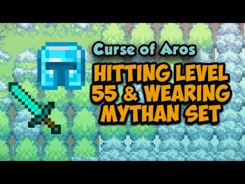hitting-lvl-55-&-wearing-mythan-gear--curse-of-aros