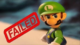 Super Smash Bros Wii U: Failed Ballot Character Auditions