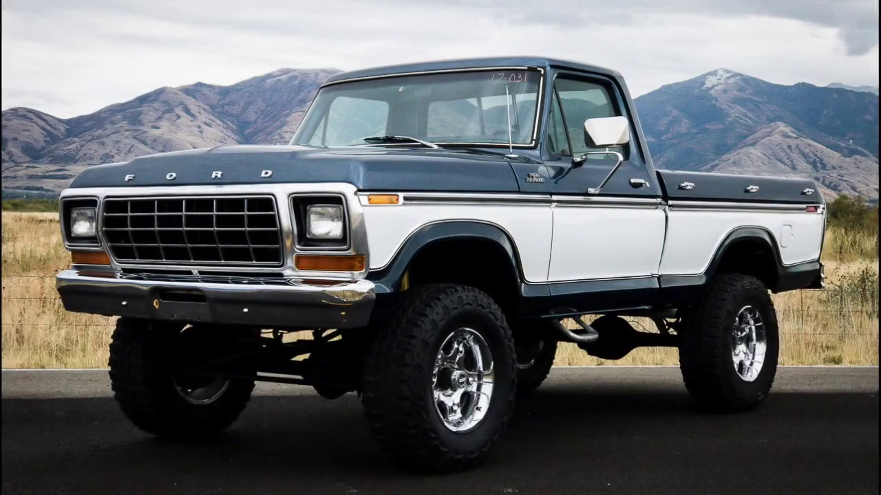 1979 Ford F150 Ranger Xlt 4wd Full Resored Fresh 460 V8 Ac Cab