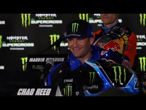 Chad Reed answers awkward James Stewart question | Anaheim 1 Press Conference