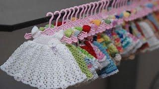 Как сделать вешалку для кукольной одежды.How to make hanger.Подарки Поделки Идеи рукоделия